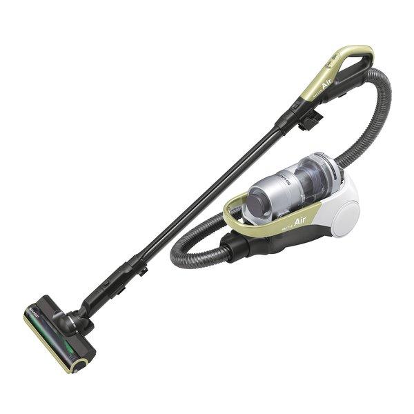 【掃除機】 シャープ RACTIVE Air EC-AS500-Y [イエロー系]・コードレス ・サイクロン式 ・自走式ブラシ搭載 【976940】