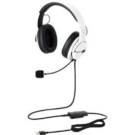 【ヘッドセット】 エレコム ARMA HS-ARMA200VWH [ホワイト]・エレコム ・ゲーミングヘッドセット ・オーバーヘッド 【979666】