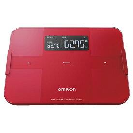 【体脂肪計・体重計】 オムロン カラダスキャン HBF-255T-R [レッド]・オムロン ・体重体組成計 ・- 【200211】T
