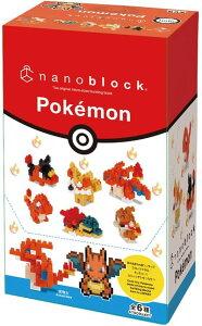 【TOY】nanoblockナノブロック ミニナノ ポケットモンスター タイプ:ほのお 【BOX販売(1BOX6個入り)】 NBMC_11