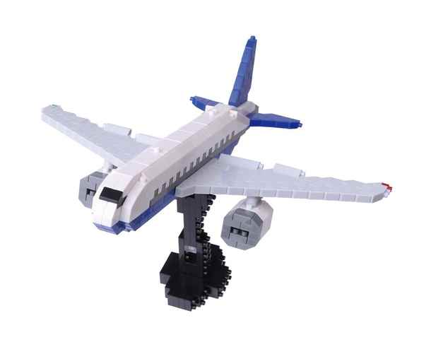 【TOY】nanoblockナノブロック 旅客機