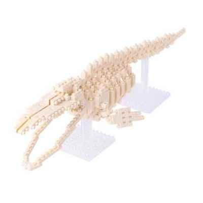 【TOY】nanoblockナノブロック シロナガスクジラ骨格モデル