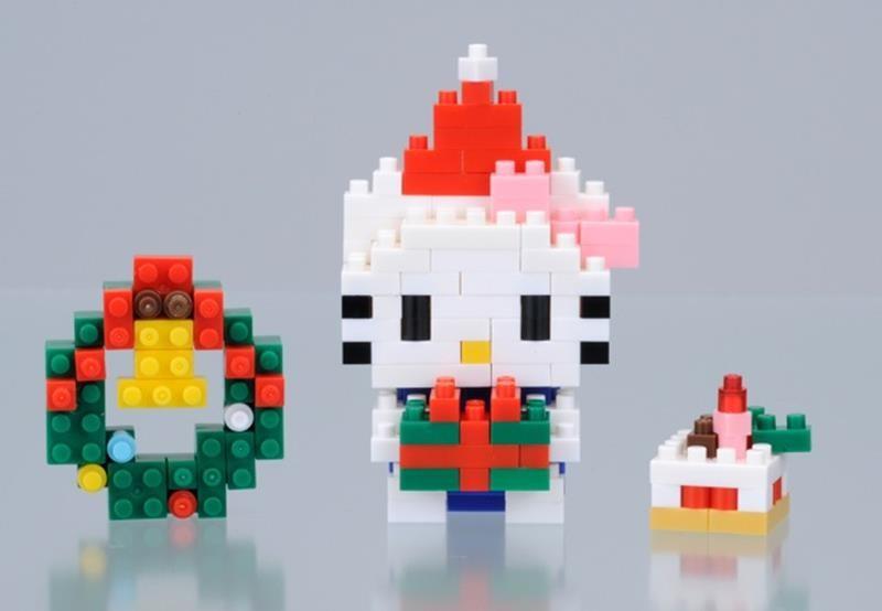 【TOY】nanoblockナノブロック クリスマスプレゼント ハローキティ