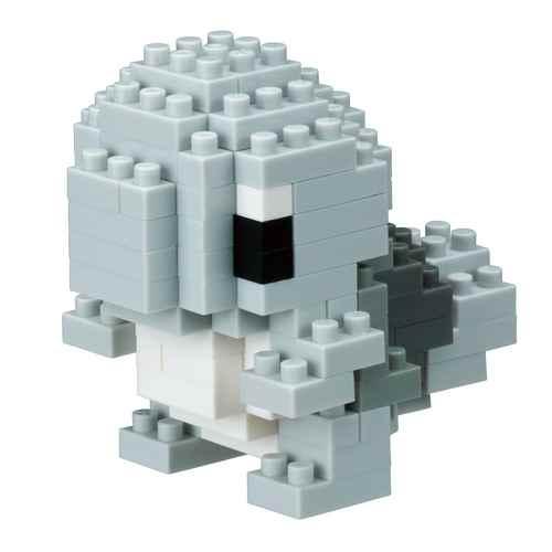 【TOY】nanoblockナノブロック ポケットモンスター ゼニガメ モノトーン