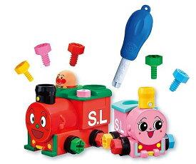 【玩具】アンパンマン くみたてDIY ねじねじSLマンとポッポちゃん【983969】