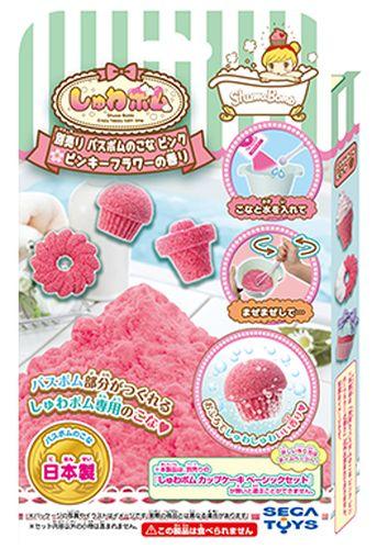 【玩具】しゅわボム 別売りバスボムのこな ピンキーフラワーのかおり(ピンク) SB-03【98】