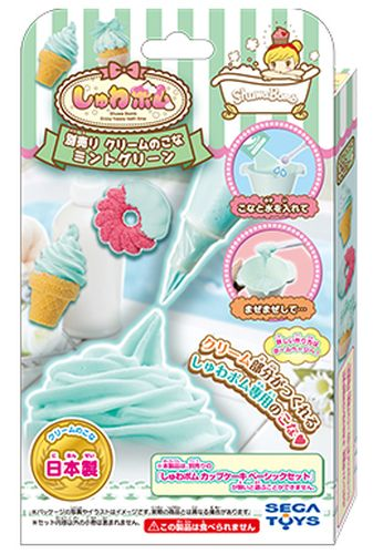 【玩具】しゅわボム 別売りクリームのこな ミントグリーン SB-07【98】