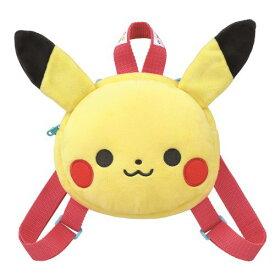 【玩具】モンポケ はじめてのフェイスリュック ピカチュウ【987302】