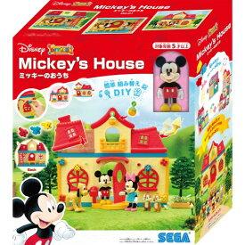 【玩具】ディズニーキャラクター DIYTOWN ミッキーのおうち【988833】