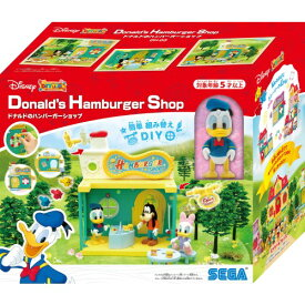 【玩具】ディズニーキャラクター DIYTOWN ドナルドのハンバーガーショップ【988835】