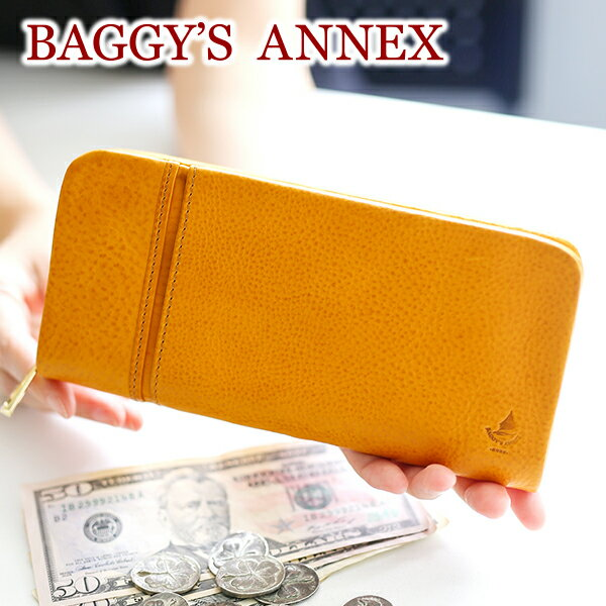 【選べるかわいいノベルティ付】 BAGGY'S ANNEX バギーズアネックス 長財布 ミネルバミネルバボックス ラウンドファスナー小銭入れ付き長財布 LZYS-8000レディース 財布 BAGGY PORT バギーポート ギフト プレゼント