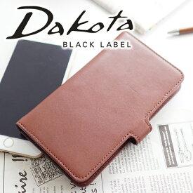 【実用的Wプレゼント付】 Dakota BLACK LABEL ダコタ ブラックレーベル iphoneケースカドー iphoneケース(iPhone 7 Plus 専用) 0626602メンズ iphoneケース(iPhone7 プラス) アイフォンケース 手帳型 ブランド