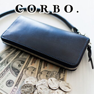 CORBO. Leather LONG WALLET 1LD-0223