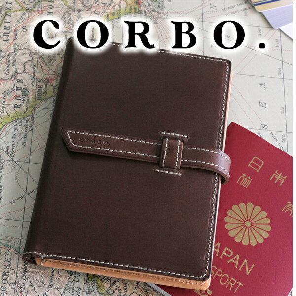 【選べる実用的プレゼント付】 CORBO. コルボ カードケースSLOW 〜 Slow Stationery (スロウ) パスポート サイズ 20枚 カードケース 1LI-0907(革のお手入れ方法本付)メンズ パスポートケース パスポートカバー 日本製 ギフト