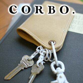 CORBO. Corvo - Roll of notes-role of notes series key holder 8LA-0505 men's key case leather