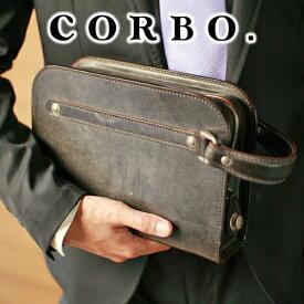 【実用的Wプレゼント付】 CORBO. コルボ-face Bridle Leather-フェイス ブライドルレザー シリーズセカンドバッグ 8ZD-8101メンズ バッグ セカンドバッグ 日本製 ギフト プレゼント ブランド