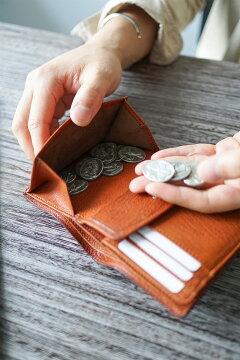 CORBO.(コルボ)_GOAT_小銭入れ付き二つ折り財布(縦型)_1LJ-1302