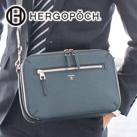 【実用的Wプレゼント付】 [ 2020年 春夏新作 ] HERGOPOCH エルゴポック バッグRadiant Leather Series レイディアントレザーシリーズ レイディアントレザークラッチショルダーバッグ RL-CSメンズ 日本製 ブランド