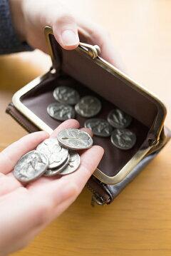 Dakota(ダコタ)リードクラシックがま口二つ折り財布0032000(0031201)何年も愛用できるお財布がこの価格で♪イタリアンレザーの質感、財布としての機能性、全てにおいて◎!