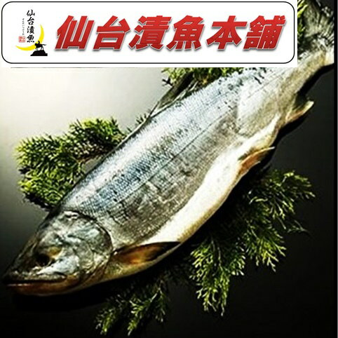北海道産 銀毛 新巻鮭1本化粧箱入れ(2〜2.3kg)