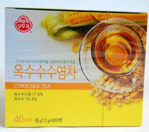 オットギ とうもろこしのひげ茶 (1.5g*40包)(韓国飲料、お茶)