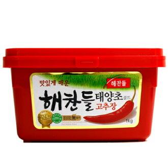 [Haechandle] hot pepper paste 1 kg (Korea food, condiments, miso)