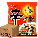 辛ラーメン1箱40個入り(韓国食品、麺類、インスタントラーメン)