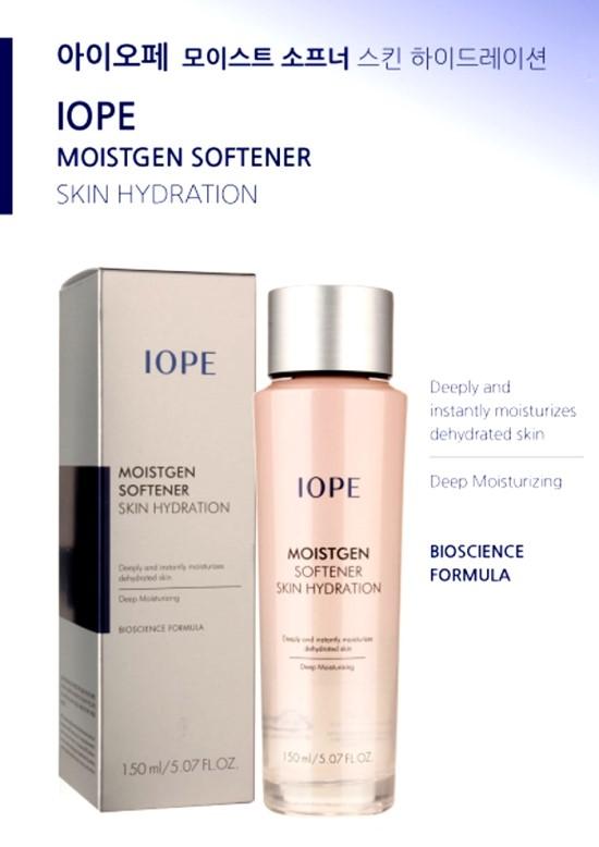 [IOPE] 【韓国コスメ】モイストゼンソフナー、スキンハイドレーション MOISTGEN SOFTENER SKIN HYDRATION