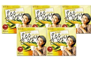【タムト】とうもろこしのひげ茶×5箱 (1.5g*40包)(韓国飲料、お茶)
