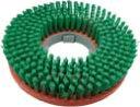 ポリッシャーブラシ 緑ネオ14インチ