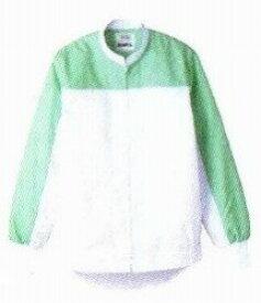 [送料無料] [事業者限定] 長袖ジャンパーDCP-2721ホワイト×グリーン[サイズSS〜4L]《宇都宮製作正規代理店》
