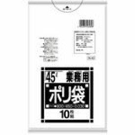 [3箱から送料無料][事業者限定] N-43[45L]透明[0.030×ヨコ650×タテ800mm][10枚入×60冊][日本サニパック正規代理店][同一メーカー3ケース以上送料無料](注)宛先が個人名の場合はお取り扱いできません