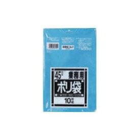[3箱から送料無料][事業者限定] N-41[45L]青[0.030×ヨコ650×タテ800mm][10枚入×60冊][日本サニパック正規代理店][同一メーカー3ケース以上送料無料](注)宛先が個人名の場合はお取り扱いできません