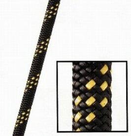 スタティックロープKM3 MAX【11mm】ブラック/ゴールド【入数:60m】(引張強度36kN)NFPA基準認定品