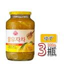 (08035x3)【S】【冬に大人気商品】【三和】蜂蜜ゆず茶 ★ 500g x 3個 ★ ビタミンCがレモンの3倍!美味しく風邪予防…