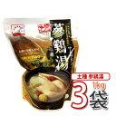 (13853x3)【S】【参鶏湯】トジョン参鶏湯 1000g ★ 3袋 ★ 加工食品 缶詰 即席食品【韓国食品・韓国料理・韓国食材・…