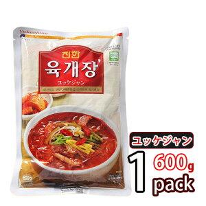 【ジンハン】ユッケジャンスープ 500g ご飯を入れたら美味しいユッケジャングッパ ★ 即席食品 加工食品 栄養 簡単料理 韓国食品 韓国料理 韓国食材 おかず 韓国お土産 輸入食品 非常食 激