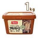 (03511)【ヘチャンドル】在来式デンジャン 1kg韓国調味料 韓国屋台 韓国みそ汁 味噌 【韓国食品・韓国料理・韓国食材…