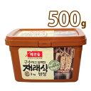 (03512)【ヘチャンドル】在来式デンジャン 500g 韓国調味料 韓国屋台 韓国みそ汁 味噌 韓国食品 韓国料理 韓国食材 …