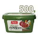(03903)【ヘチャンドル】サムジャン 500g韓国調味料 韓国屋台 韓国焼肉味噌 【韓国食品・韓国料理・韓国食材・おかず…