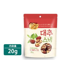 【あす楽】【報恩】なつめチップス20gX1袋★ボウンなつめサラダヨーグルトアイスクリームに入れもそのままでも美味しい!★韓国ボウンの特産品