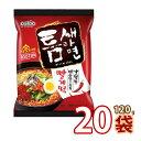 (01635)【S】【Paldo】激辛トゥンセ ラーメン ★ 120g x 20袋 ★ 韓国食品 輸入食品 韓国食材 韓国料理 韓国お土産 韓…