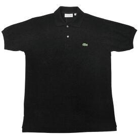 FRANCE LACOSTE(直輸入フランスラコステ) #L1212 S/S PIQUE POLOSHIRTS(半袖 鹿の子 ポロシャツ) NOIR(BLACK)(031)