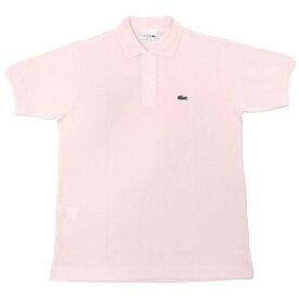 FRANCE LACOSTE(直輸入フランスラコステ) #L1212 S/S PIQUE POLOSHIRTS(半袖 鹿の子 ポロシャツ) FLAMANT(PINK)(T03)