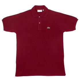 FRANCE LACOSTE(直輸入フランスラコステ) #L1212 S/S PIQUE POLOSHIRTS(半袖 鹿の子 ポロシャツ) BORDEAUX(WINE)(476)