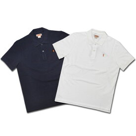【2 COLORS】BARACUTA(バラクータ)【MADE IN ITALY】 S/S PIQUE POLOSHIRTS(イタリア製 半袖 鹿の子 ポロシャツ)