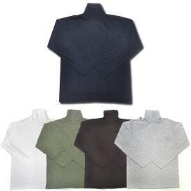 【5 COLORS】GOODWEAR(グッドウェア)【MADE IN U.S.A.】 L/S TURTLE NECK POCKET T SHIRTS(アメリカ製 長袖タートルネックポケットTシャツ)