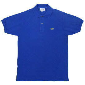 FRANCE LACOSTE(直輸入フランスラコステ) #L1212 S/S PIQUE POLOSHIRTS(半袖 鹿の子 ポロシャツ) ELECTRIC(Z7Z)