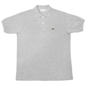 FRANCE LACOSTE(直輸入フランスラコステ) #L1264 S/S PIQUE POLOSHIRTS(半袖 鹿の子 ポロシャツ) ARGENT CHINE(HEATHER SILVER)(CCA)