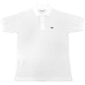 US LACOSTE(北米 ラコステ) #L1212 S/S PIQUE POLOSHIRTS(半袖 鹿の子 ポロシャツ) BLANC(WHITE)(001)